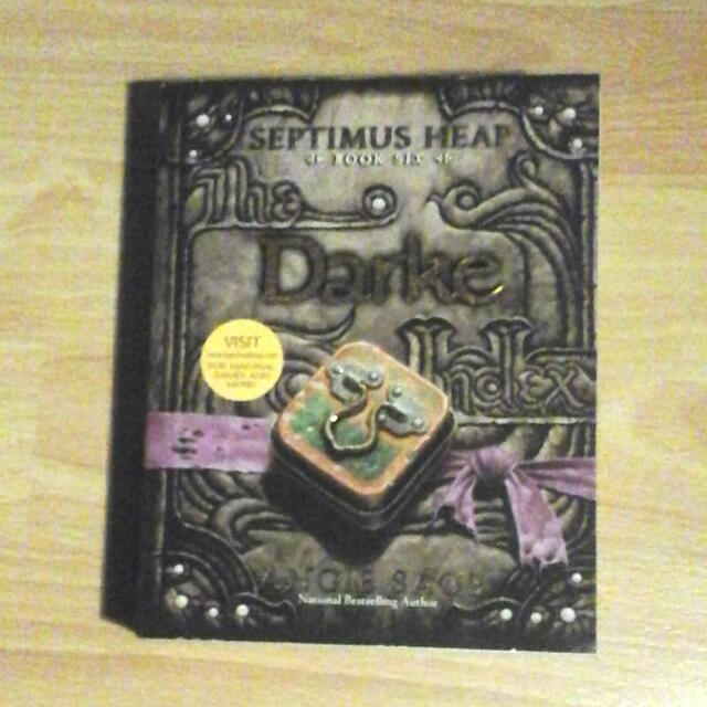 Septimus Heap, Book Six - darke