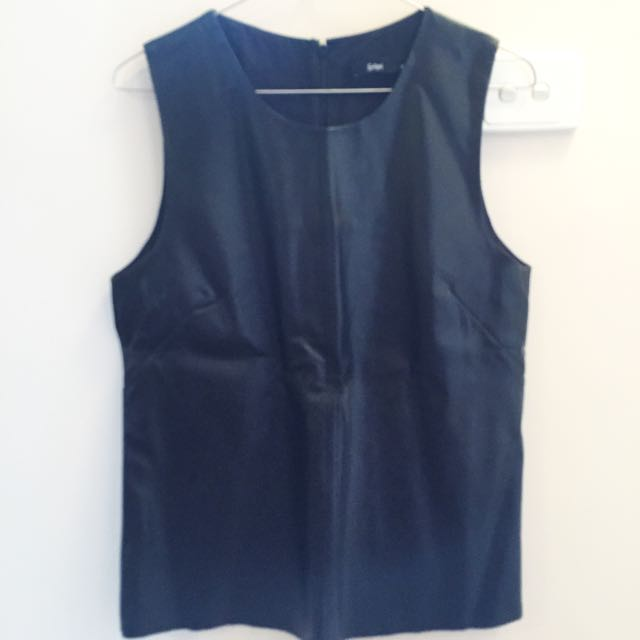 Sportsgirl Pleather Shirt