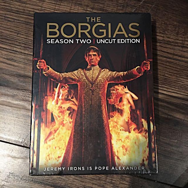 The Borgias Season 2 Uncut Edition