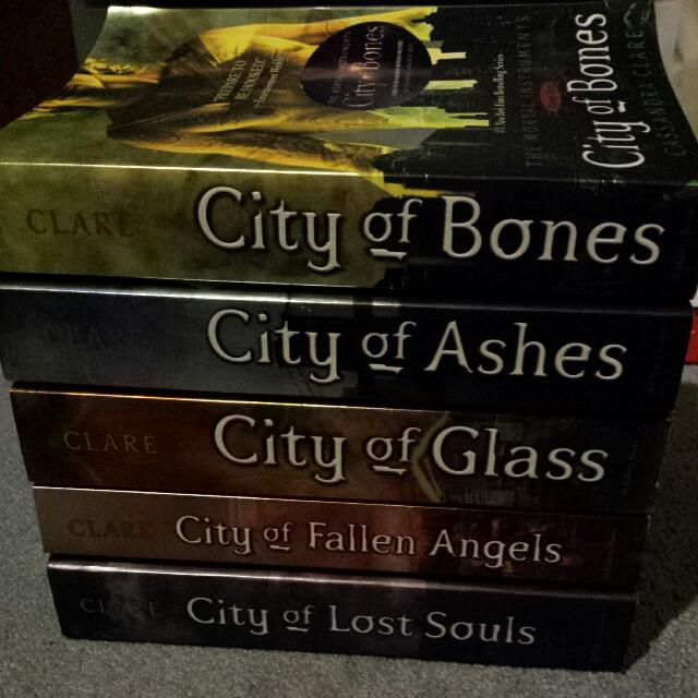 The Mortal Instruments Series (Complete)