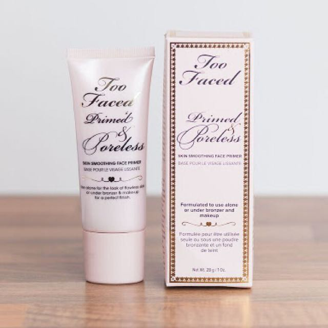 Too Faced Primed And Pore less Primer