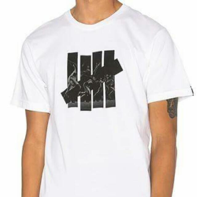Undefeated Logo Tee 白色 短T