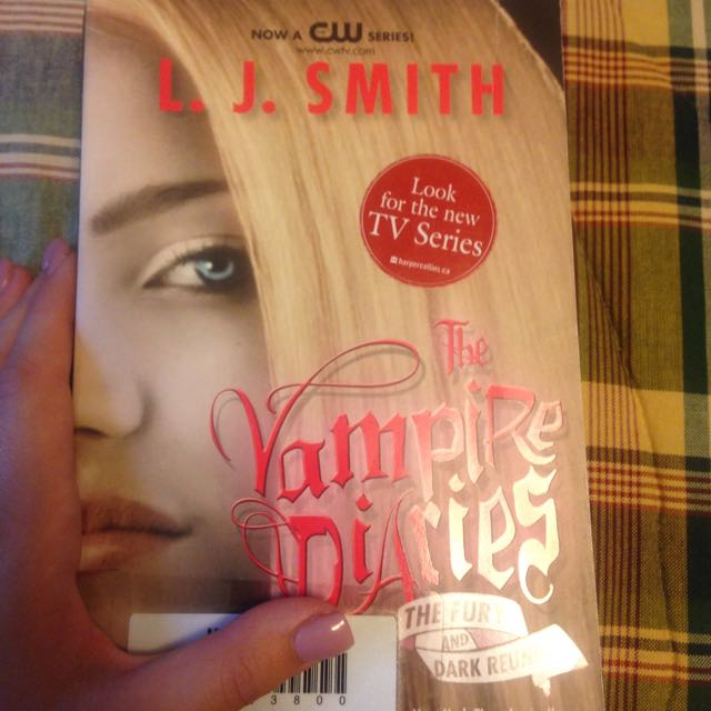 Vampire Diaries-the Fury And Dark Reunite