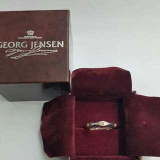 Georg Jensen 典藏喬治傑生 編號 261 橘月石  戒指