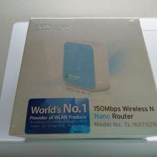 TP-LINK 150Mbps Wireless N Nano Router (postage fee included)