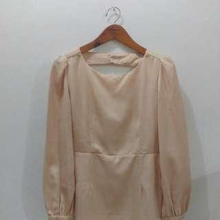 Le Bijou Creme Dress