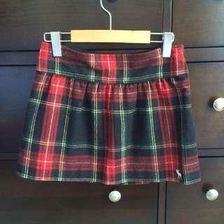 A&F F/W Grid Skirt