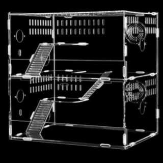 各式壓克力鼠籠 單層 雙層 三層 透明壓克力鼠籠試賣