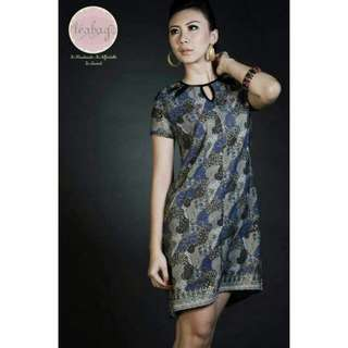 Dress Batik Teabag Butik