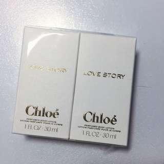 保留 Chloe Love Story 愛情故事名牌香氛乳液
