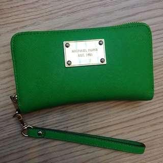 Michael Kors palm green wallet