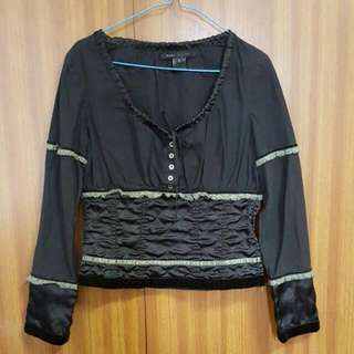 Marc Jacobs Top BLACK Velvet