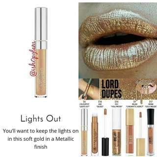 Colourpop UltraMetallic Lips
