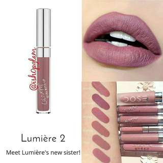 Colourpop UltraMatte Lips Lumiere2