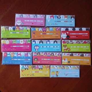 Cute Sticky Notes Animal Print Bundle Sale Bulk Buy 13 Styles *125 Left*