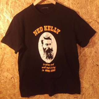 ned kelly is alive! t shirt. M