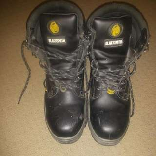 Blacksmith Steelcap Size 9 Work boots