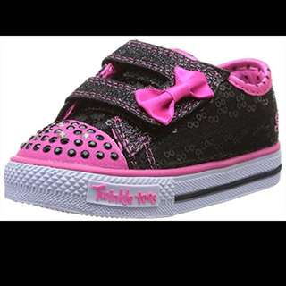 GUC Toddler Sketchers Twinkle Toes Light Up Shoes