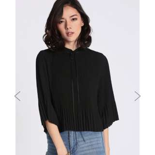 Love Bonito Tonica Pleated Top