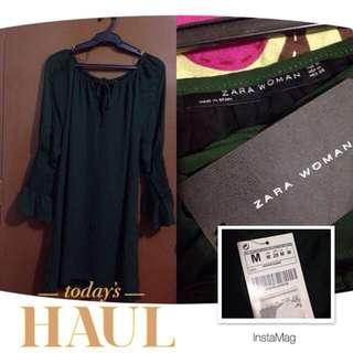 ZARA Woman Green Tunic.PRICE DROP!