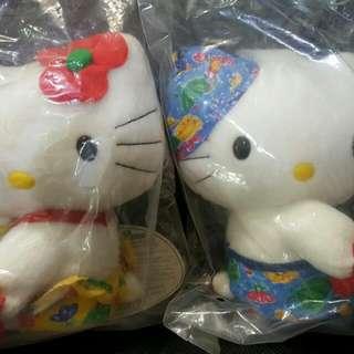 瘋Kitty玩偶的年代(一對)