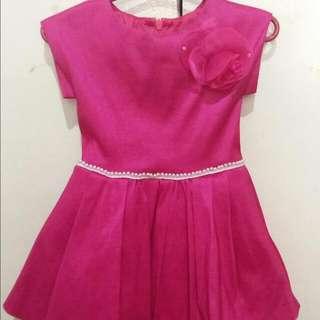 Fushia Pink Gown