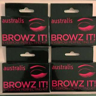 Australis Browz IT Eyebrow Perfecting Kit - BNIB