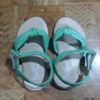 Sugar Kids Mint Green Sandals