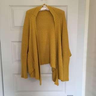 Mustard Coloured Cardigan