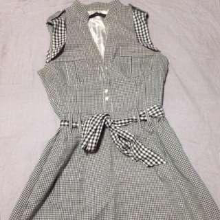 Maldita checkered dress