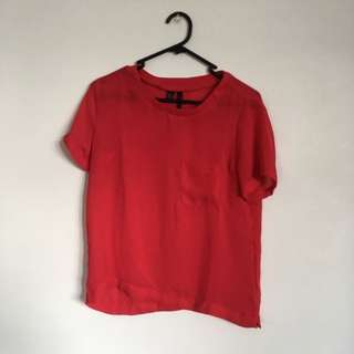 Red Top From MANGO