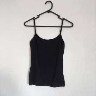 SUPER PETIT Black Top From Zara