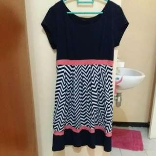Litle Black Stripe Dress