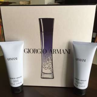 Giorgio Armani Shower Gel & Body Lotion