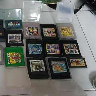 old game boy cartridges