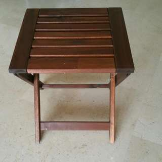 Foldable Wooden Stool