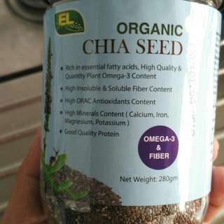 Organic Chia Seeds From Mexico (Restocked)