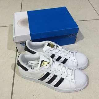 Adidas Superstar 金標 全新(可換尺碼小的