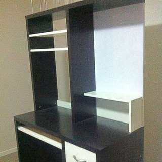 Black And White Study Table