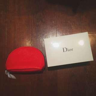Dior精品小包包 紅色 全新 只有一個喔