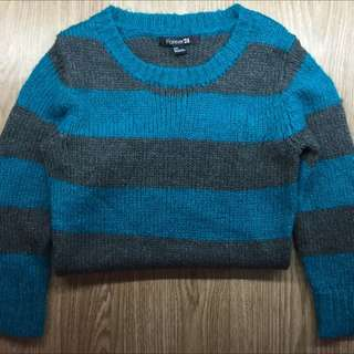 Forever 21 Stripped Knit Sweater