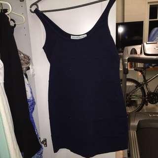 Brooke Daniels Navy Dress Size M
