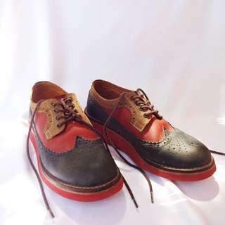 Derby Tritone Premium Leather - Portee Goods