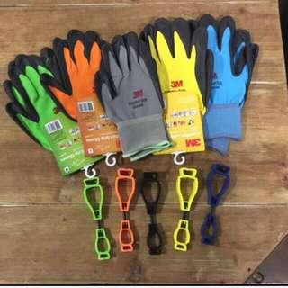 3M Nitrile Foam Coated Gloves combo set
