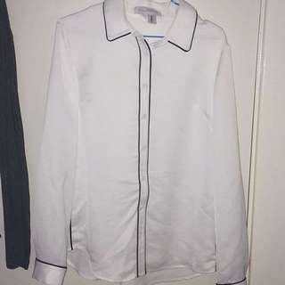 Finders Keepers White Blouse