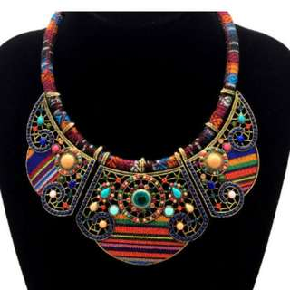 Handmade Bohemia Necklace