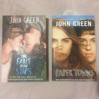 The Fault In Our Stars And Paper Towns