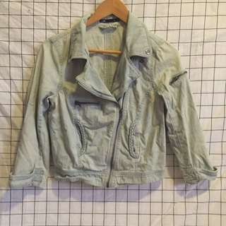 Dotti Light Wash Denim Jacket