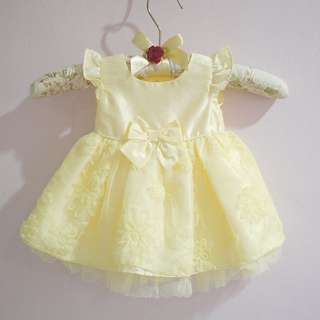 Authentic George Very Yellow Dress