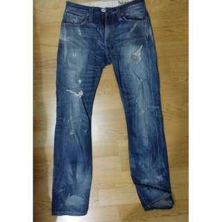 Levi's 破壞 牛仔褲
